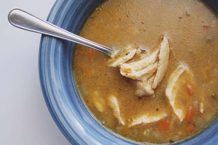 Homemade Chicken SoupRecipe