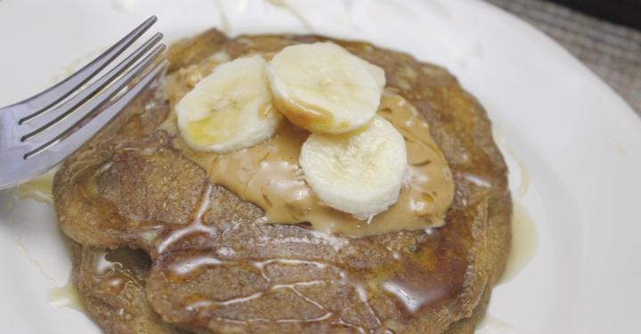 5 Ingredient Gluten Free- Vegan BananaPancakes