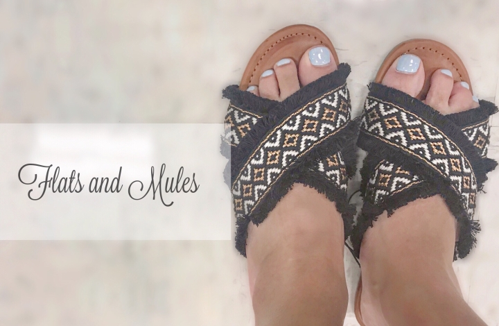 Summer Flats and Mules Under$50