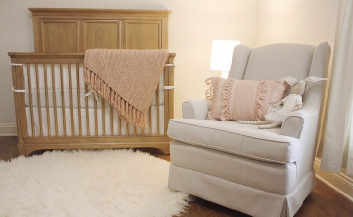 Baby Girl Nursery Tour- Modern Chic