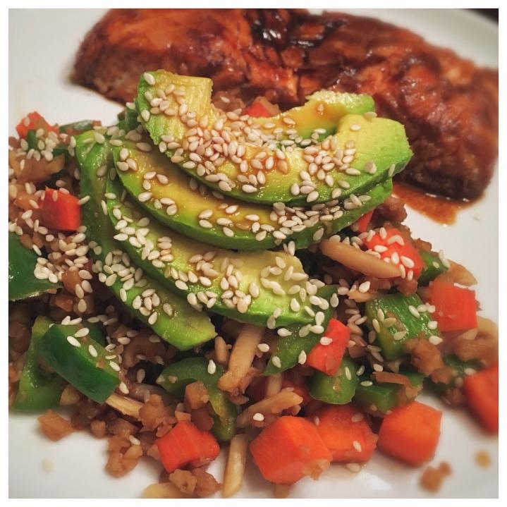 Healthe Cafe- Cauliflower Rice StirFry